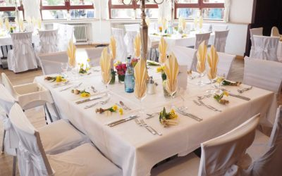 Renting Tables and Chairs for Your Wedding: How It Works?